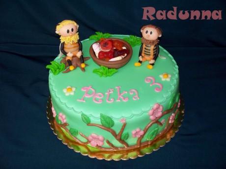 ... dorty filmové a pohádkové - Včelí medvídci+gumové bonbóny
